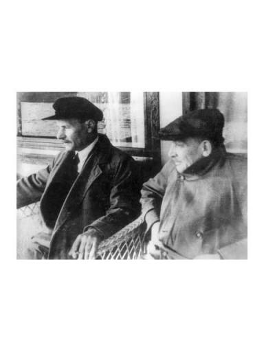 Якуб Колас з Янкам Купалам